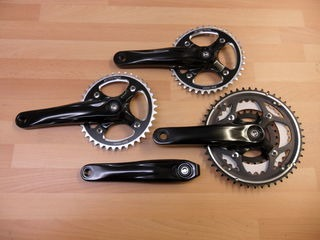 ORBIT TANDEMS Tandem Crossover chainset 26/36/48