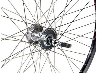 "JD TANDEMS Handbuilt Tandem Wheel Front 26"" Disc - 40 Hole"