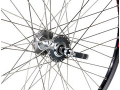 "JD TANDEMS Handbuilt Tandem Wheel Front 26"" Disc"