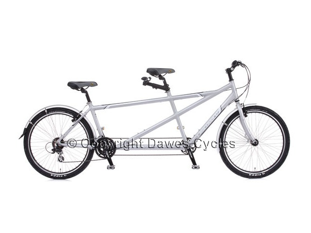 DAWES Discovery Twin Tandem Bicycle click to zoom image