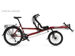 HASE Pino Allround Rohloff Half Recumbent Tandem Bicycle