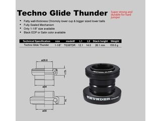 TANGE Techno Glide Thunder Headset