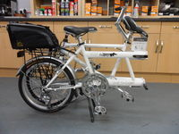 Folding tandem - now available to test ride