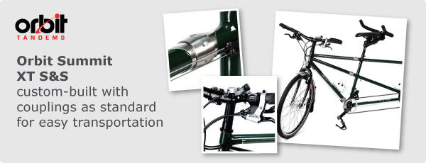 Orbit Summit XT S&S, custom-built with S&S couplings as standard for easy transportation