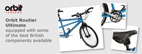 Orbit Routier Ultimate, equipped with some of the best British components available
