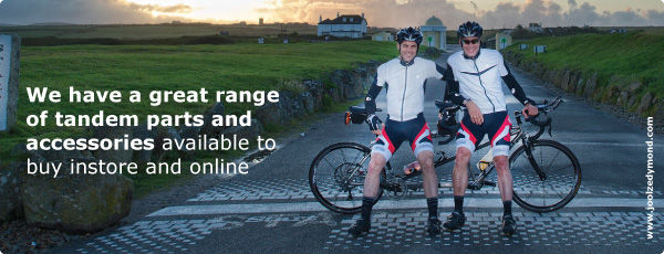 We have a great range of tandem parts and accessories available to buy online and in store