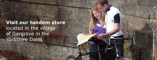Visit our tandem store, located in the beautiful village of Gargrave, in the Yorkshire Dales
