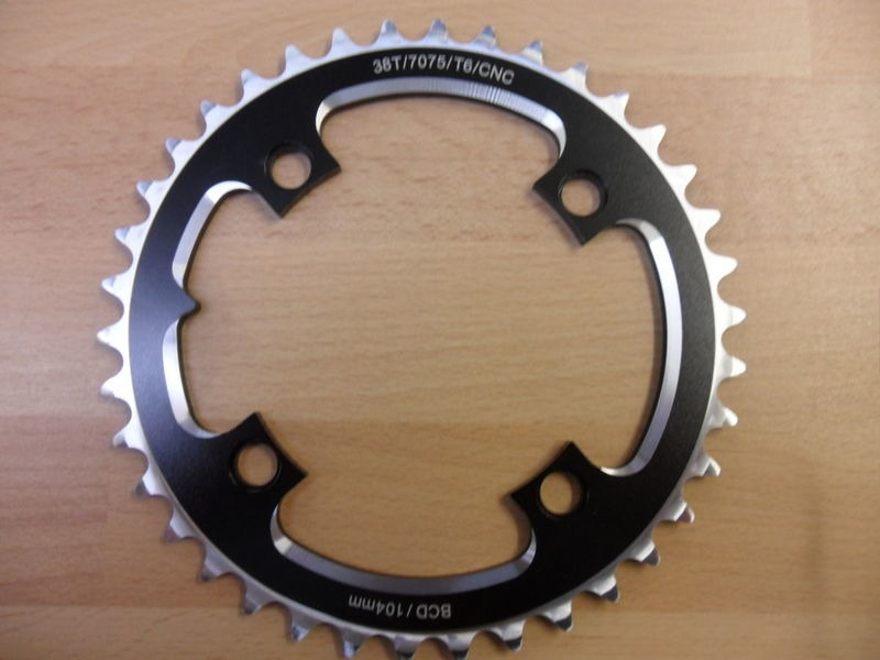 ORBIT TANDEMS 38 Tooth 104 PCD Crossover ring click to zoom image