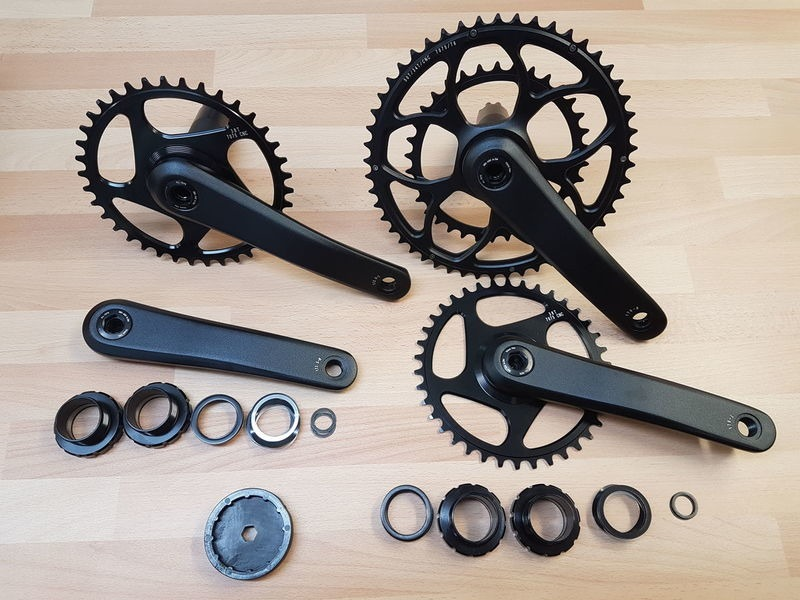 ORBIT TANDEMS Saturn tandem chainset double click to zoom image