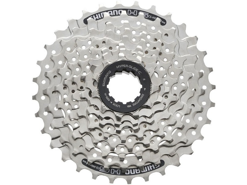 SHIMANO HG41 8-speed cassette 11 - 34T click to zoom image