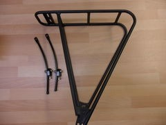 JD TANDEMS Alloy 2 leg pannier rack