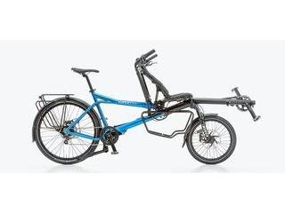 HASE Pino Tour Half Recumbent Tandem Bicycle