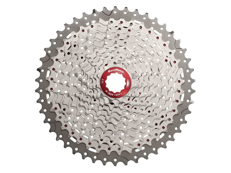 SUNRACE CSMX8 11 speed cassette 11/46 click to zoom image