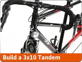 Build a Drop Bar Tandem (Triple)